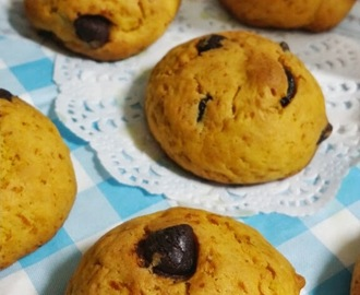 Pumpkin Chocolate Chips Cake-Cookies