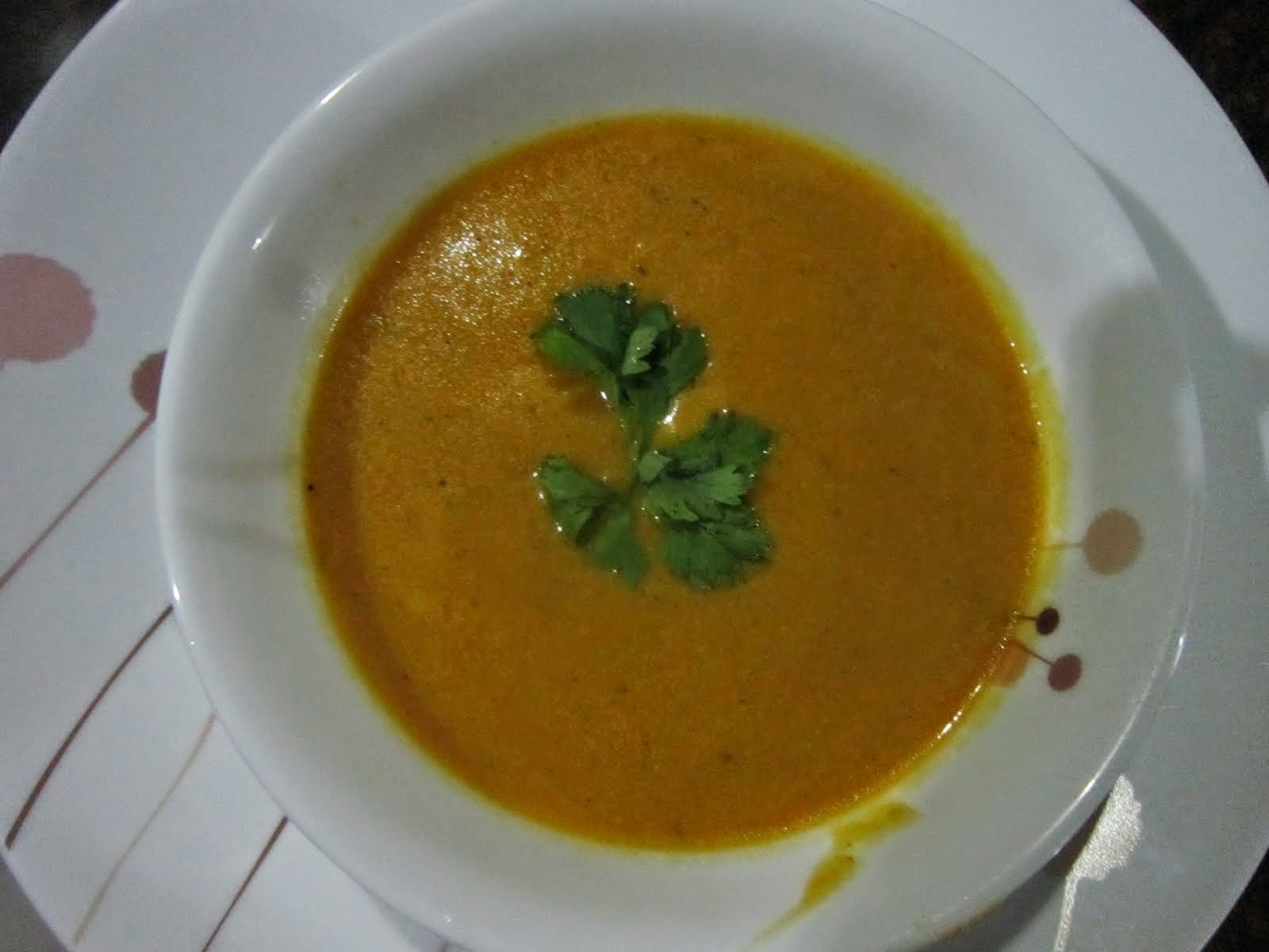 CREAMY COCO PUMPKIN SOUP - Using Alaska Crema