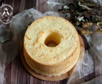 Orange Rice Flour Chiffon Cake with Orange Peels 米粉香橙糖渍戚风蛋糕