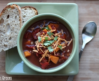 Smokey Sweet Potato Slow Cooker Stew