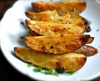 How to Make Oven Roasted Greek Style Potatoes