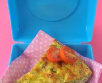 Bacon and Courgette Quiche