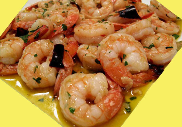 Spicy Shrimp Gambas Recipe