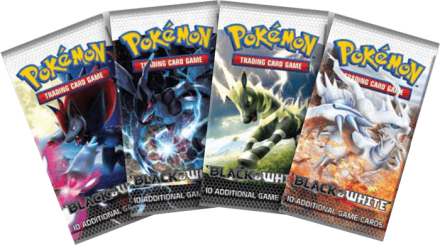 Pokemon black & white booster - pokemon kort
