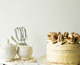 Cappuccino Layer Cake