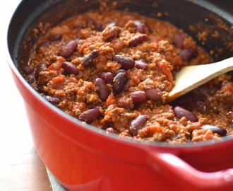 Simple comme un chili con carne