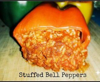 Simple Stuffed Bell Peppers