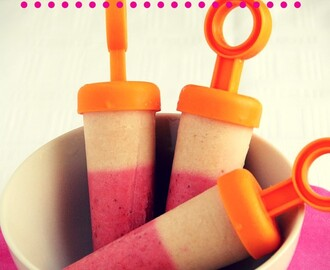 cupcakes-and-couscous wrote a new post, Strawberry & Peach Yoghurt Pops, on the site Cupcakes & Couscous
