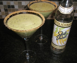 Kiwi Lime Pie Martini