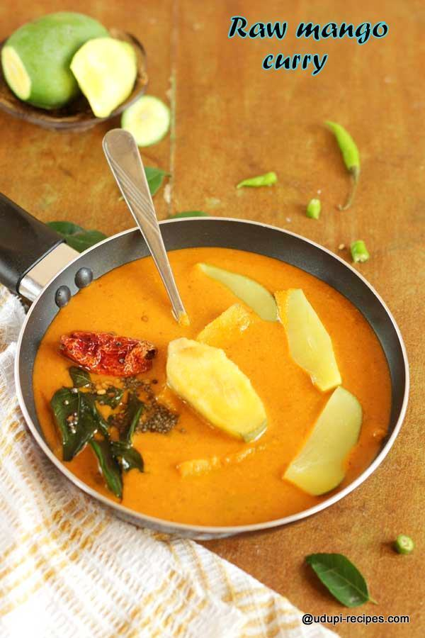 Raw Mango Curry in Konkani Style