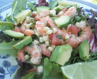 Mexican Chilled Prawn Salad