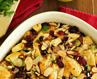 Green Apple & Sausage Stuffing