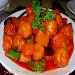 SWEET AND SOUR CHICKEN / PORK