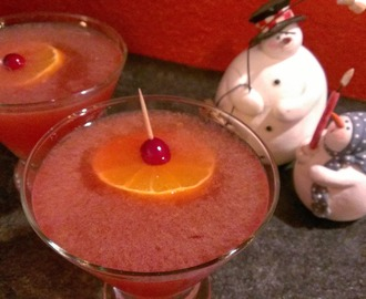 Clementine Cranberry Martini