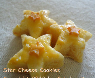 Star Cheese Cookies