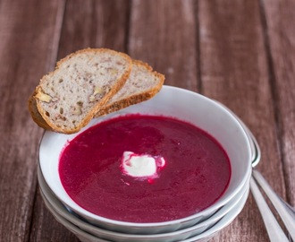 Rote Beete Suppe/ Beetroot Soup