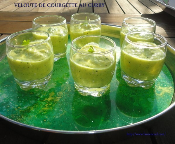 VELOUTE DE COURGETTE AU CURRY
