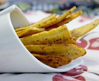 Chips de plantain au piment
