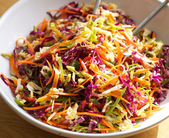 Asian Fresh Coleslaw