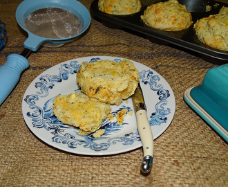 Cheese and herb muffins