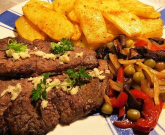 Kančí steak