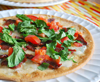 Bacon & Blue Cheese Flatbread