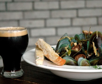 Dark Beer and Seafood at The Perfect Pint