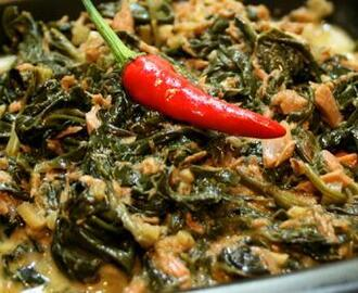 Laing (Taro Leaves in Coconut Milk) Recipe
