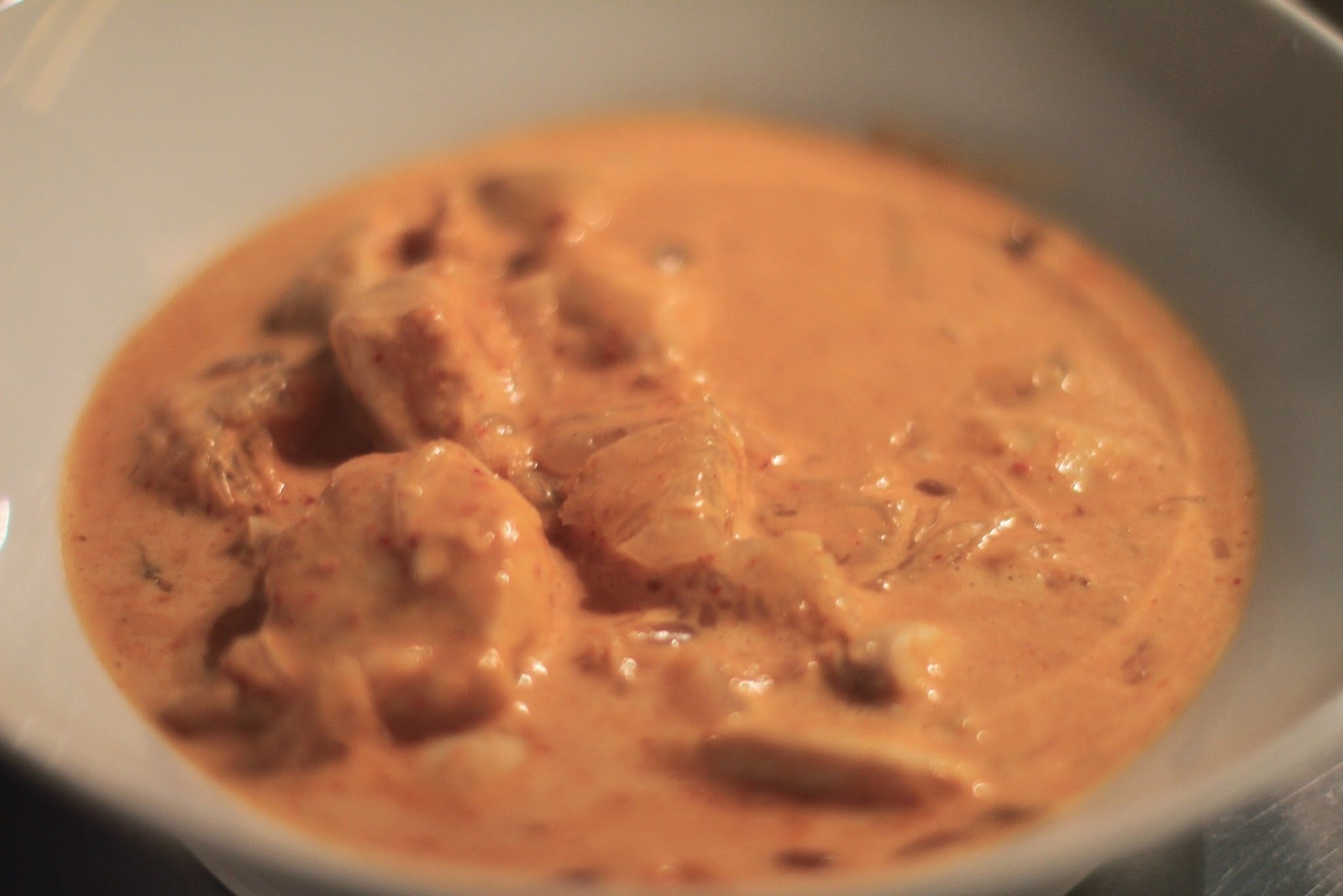 Red Thai Curry mit Poulet
