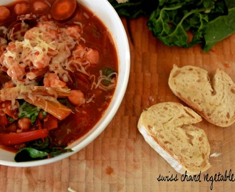 swiss chard vegetable soup