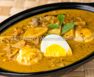 Egg Curry, Kerala Egg Curry with Potatoes - MeemisKitchen