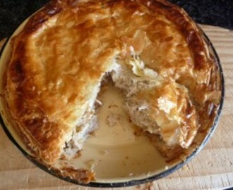 Mother-in-Law's Very Good Chicken Pie