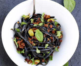 Mediterranean Black Linguine and the Republic of San Marino