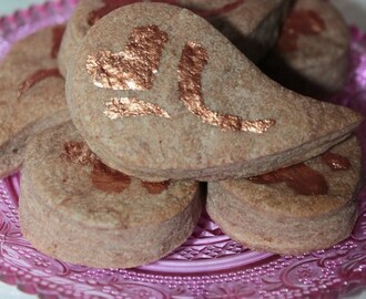 Tea Time : Biscuits Cacao Spéculoos et Petites Chaussures en Massepain
