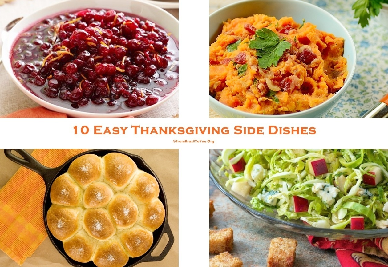 10 Easy Thanksgiving Side Dishes