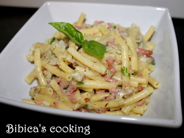 One-Pan Pasta crème-bacon