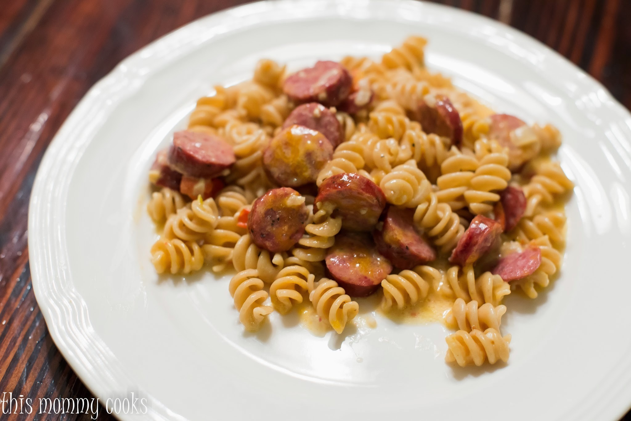 One Pot Sausage and Pasta