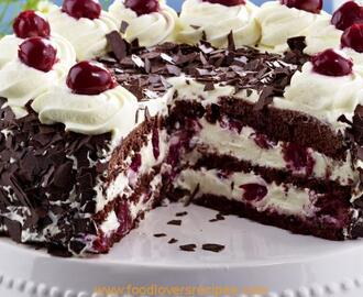 GLUTEN-FREE BLACK FOREST GATEAU