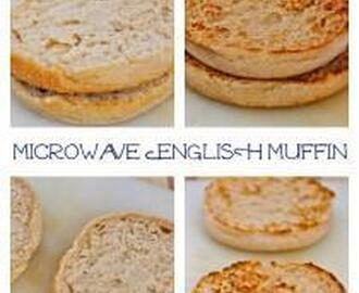 Microwave English Muffin (Paleo, Vegan, Gluten Free)