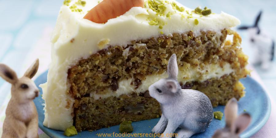CARROT AND PECAN CAKE