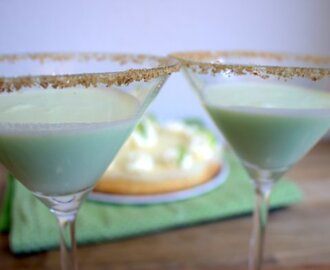 Key Lime Cheesecake [& Key Lime Pie Martinis]