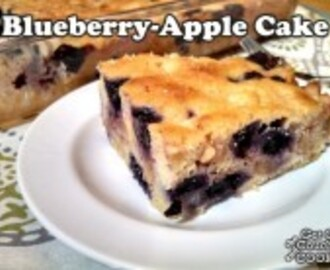 Blueberry-Apple Cake