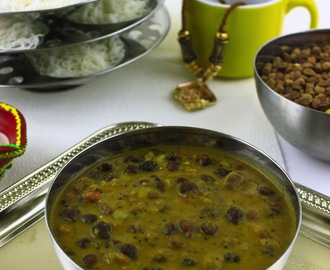 Kadala Curry/Black Channa Gravy/Kala Channa Gravy