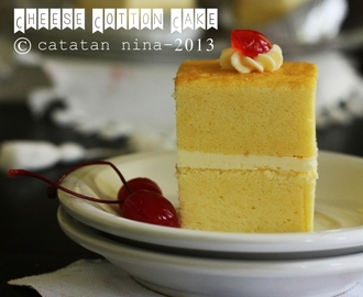 CHEESE COTTON CAKE