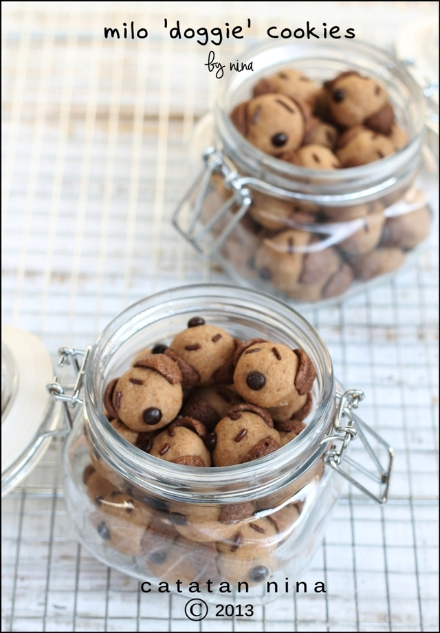 MILO 'DOGGIE' COOKIES
