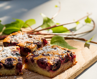 Clafoutis Limousin ( a Cottage on 55 Recipe)
