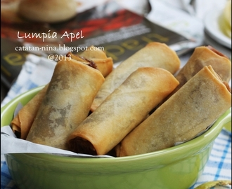 LUMPIA APEL (APPLE SPRING ROLL)
