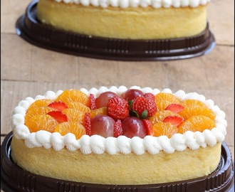 OVAL CHEDDAR CHEESE CAKE