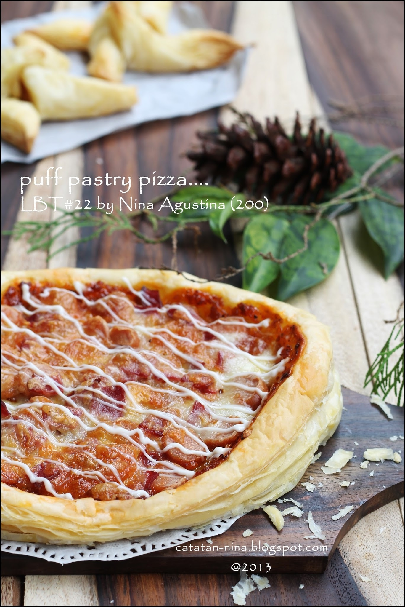 PUFF PASTRY PIZZA (LBT#22)