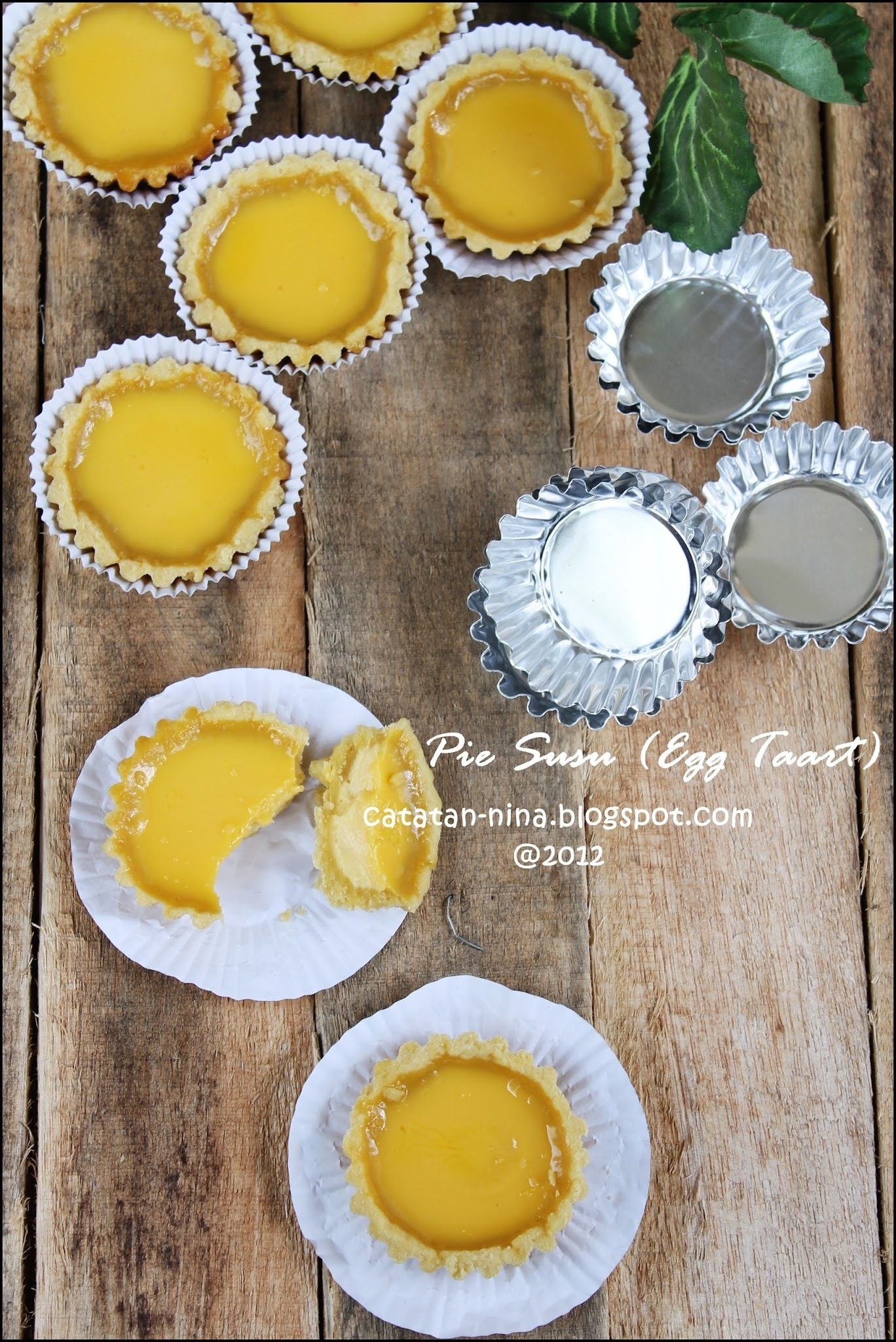 PIE SUSU (EGG TART)